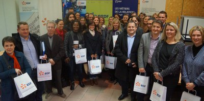 Photo de groupe academie de Lille et collaborateurs EDF